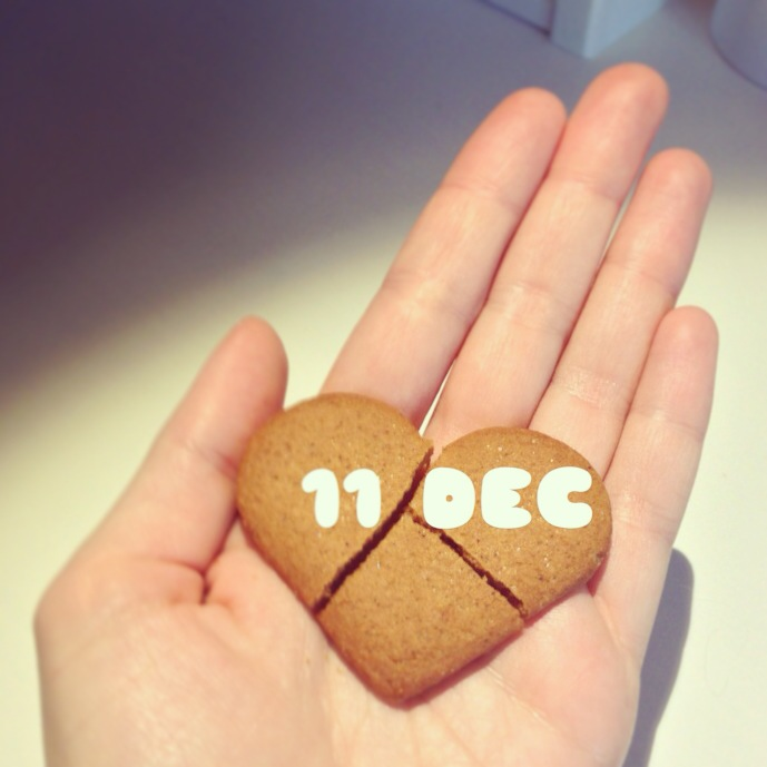 11 December – Perfectly cracked. Make a wish