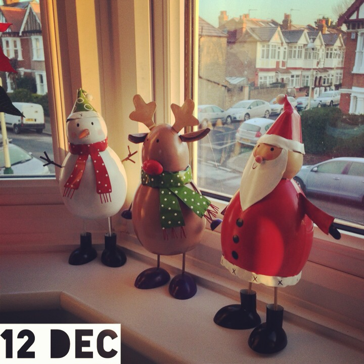 12 December – The three John Lewis Christmas friends